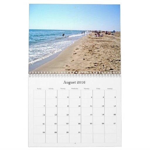 Discover France Calendar