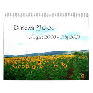 Discover France Wall Calendars