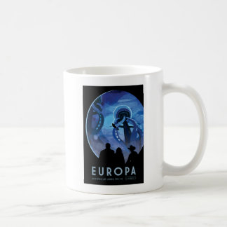 Discover Jupiters Moon Europa Coffee Mug