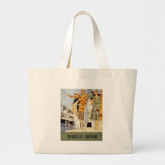 Discover Life:  Bon Voyage Jumbo Tote Bag