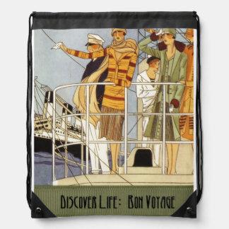 Discover Life: Bon Voyage Cinch Bag