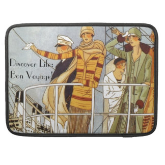 Discover Life:  Bon Voyage Sleeves For MacBooks