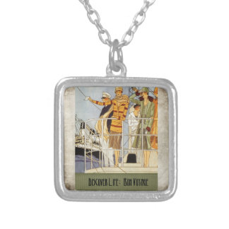 Discover Life Bon Voyage Personalized Necklace