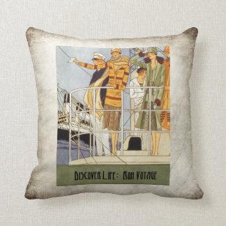 Discover Life:  Bon Voyage Pillow