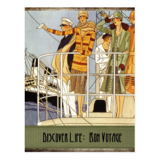 Discover Life:  Bon Voyage Post Cards