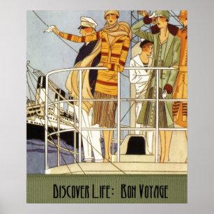 bon voyage posters photo prints zazzle
