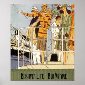 Discover Life:  Bon Voyage Print