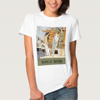 Discover Life:  Bon Voyage Tee Shirt