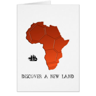 Discover New Land by soccer Card