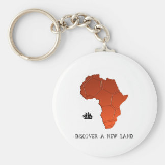 Discover New Land by soccer Key Chain