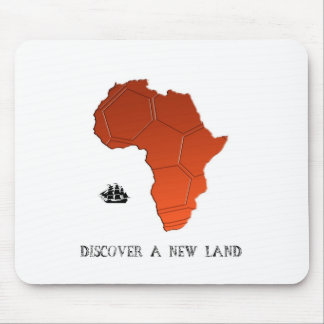 Discover New Land by soccer Mouse Pad