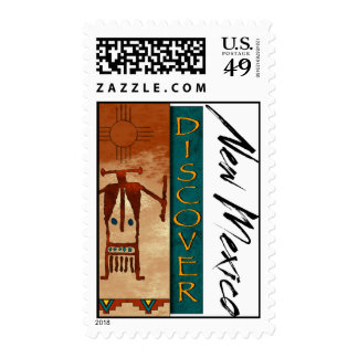 Discover New Mexico Postage Stamp