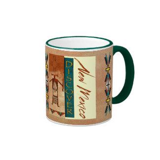 Discover New Mexico Ringer Coffee Mug