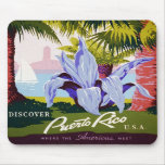 Discover Puerto Rico Mouse Pads