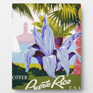 Discover Puerto Rico Plaque