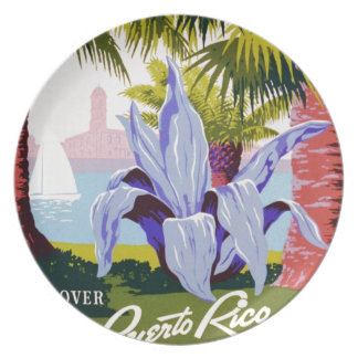 Discover Puerto Rico Plate