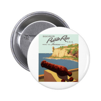 Discover Puerto Rico Poster Pins