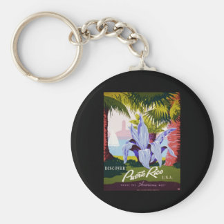 Discover Puerto Rico U S A Key Chains