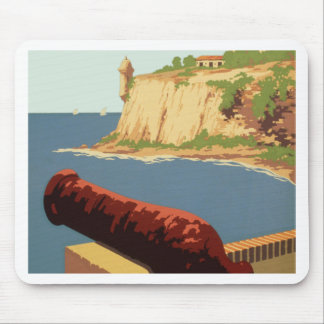 Discover Puerto Rico U.S.A., Mouse Pad