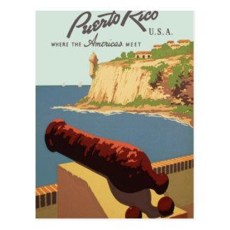 Discover Puerto Rico U.S.A., Postcard