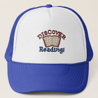 Discover Reading T shirts and Gifts Trucker Hat