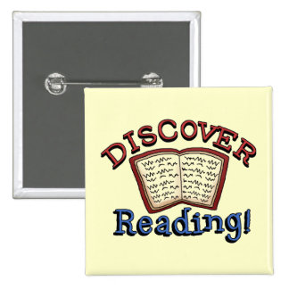 Discover Reading Tshirts and Gifts Button