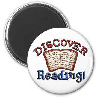 Discover Reading Tshirts and Gifts Magnets