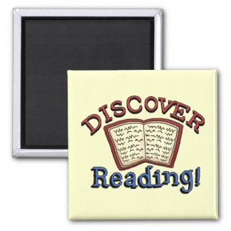 Discover Reading Tshirts and Gifts Fridge Magnets