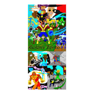 Discover the heroes card rack card template