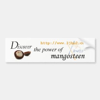 Discover the Power of Mangosteen Bumper Sticker