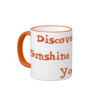 Discover The Sunshine Within You - Happy Mug