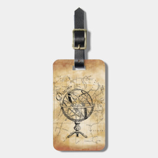 Discover the World Bag Tag