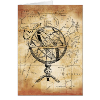 Discover the World Stationery Note Card