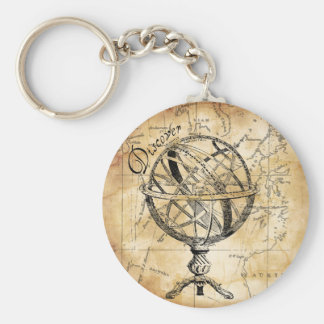 Discover the World Key Chain