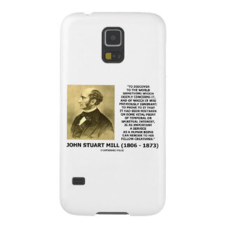 Discover To The World Service Human Beings JS Mill Samsung Galaxy Nexus Covers