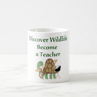 Discover wildlife become a Teacher.  Teacher Mug
