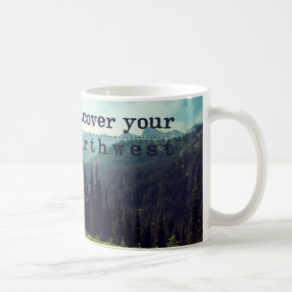 discover your northwest- mountains coffee mug