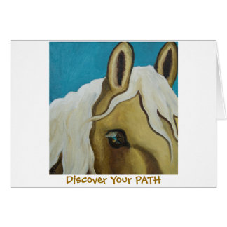 Discover Your Path greeting card