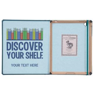 Discover Your Shelf custom monogram cases Cases For iPad