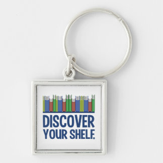 Discover Your Shelf key chain