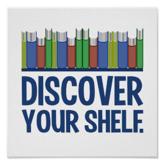 Discover Your Shelf poster