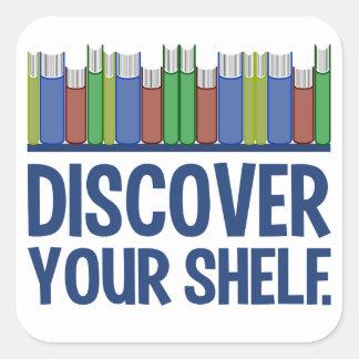 Discover Your Shelf stickers