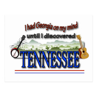 Discovered Tennessee Postcard