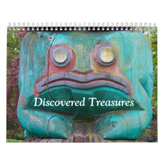 Discovered Treasures Calendar