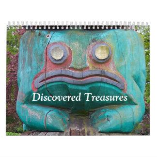 Discovered Treasures Calendar