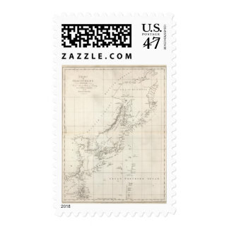 Discoveries made in 1787 In the Seas of China Postage