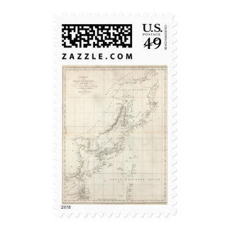 Discoveries made in 1787 In the Seas of China Postage Stamps