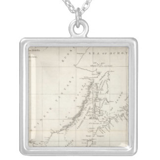 Discoveries made in 1787 In the Seas of China Silver Plated Necklace