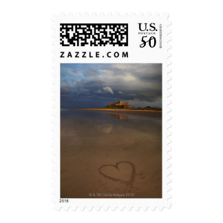 Discovering and falling in love with new places postage