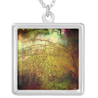 Discovering Beauty Square Pendant Necklace